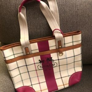 Coach Handbag with mini wallet